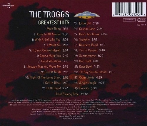 The Troggs Greatest Hits 1994 2003 Full Album Download
