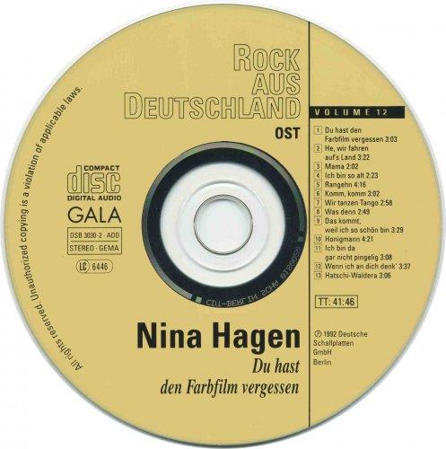 Nina Hagen - Du hast den Farbfilm vergessen (1992)