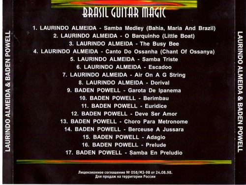 Laurindo Almeida Amp Baden Powell Brasil Guitar Magic