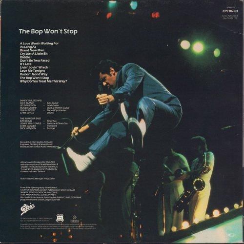 Shakin' Stevens - The Bop Won't Stop (1983) LP