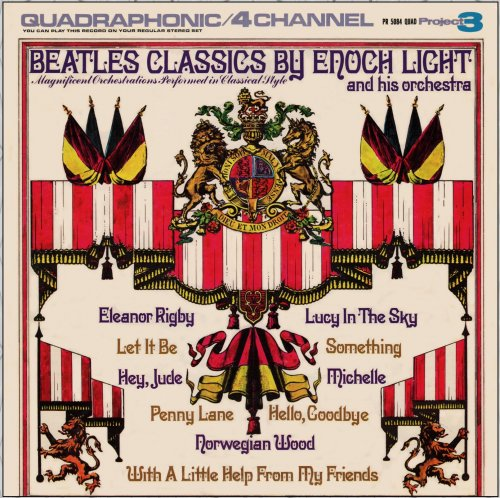 Enoch Light And His Orchestra – Beatles Classics (1974) Vinyl