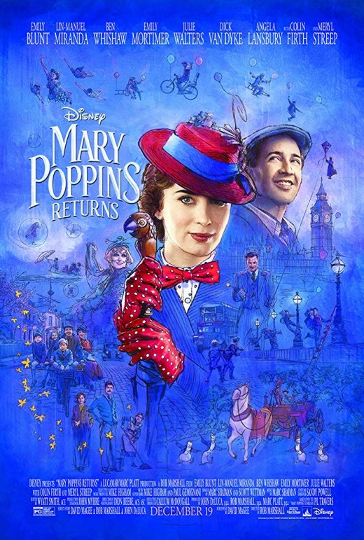 Mary Poppins Returns (2018) BRRip