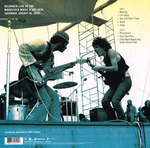 Santana - Woodstock (2017) LP