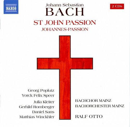 Ralf Otto - Bach: St. John Passion (2018) [CD Rip]