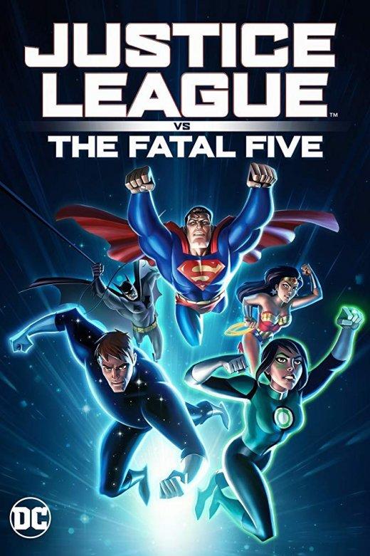 Justice League vs the Fatal Five (2019) [BRRip 1080p]