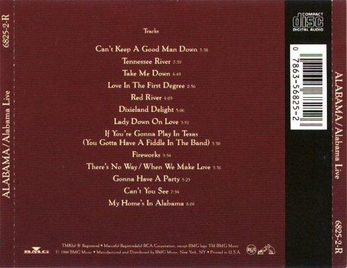 Alabama - Alabama Live (1988)