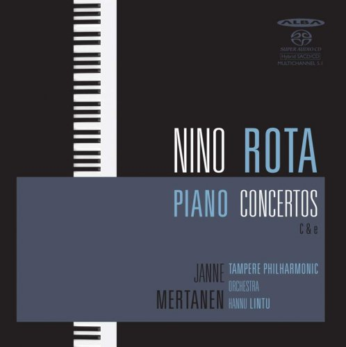 Janne Mertanen, Tampere Philharmonic Orchestra, Hannu Lintu – Nino Rota: Piano Concertos C & e (2009)