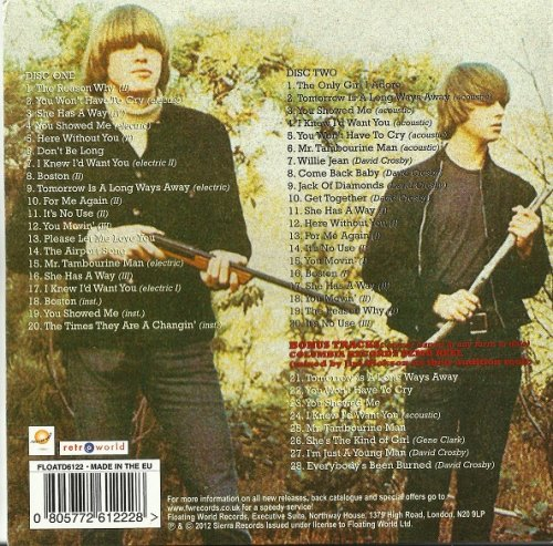 The Byrds - Preflyte (Reissue, Remastered, Bonus Tracks) (1964/2012)