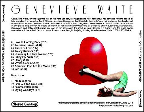 Geneviève Waite - Romance Is On the Rise (Reissue) (1974/2013)