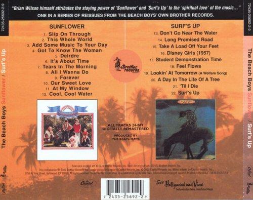 The Beach Boys - Sunflower / Surf's Up (Reissue) (1970-71/2000)