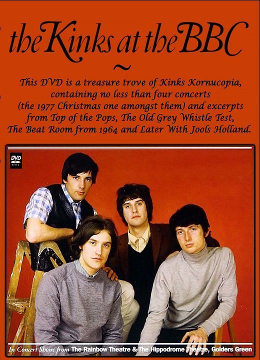 The Kinks - At The BBC-Radio & TV Sessions And Concerts: 1964-1994 (2012) DVD