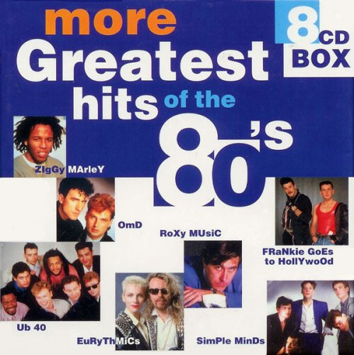 VA - More Greatest hits of the 80's (8CD Box) (2000)