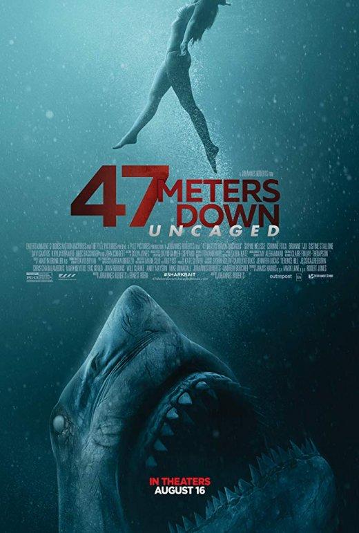 47 Meters Down: Uncaged (2019) BRRip