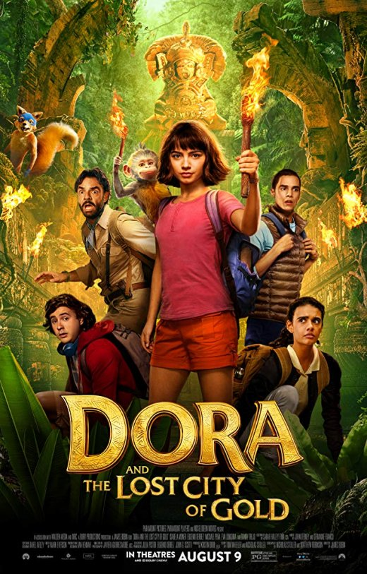 Dora and the Lost City of Gold (2019) WEB-DL