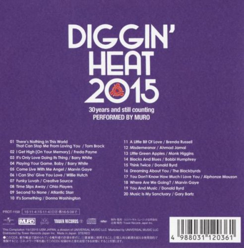 VA - Muro - Diggin' Heat 2015 - 30 Years And Still Counting (2015)