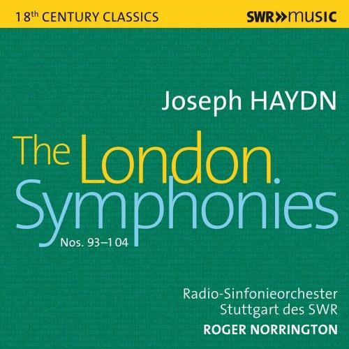 Stuttgart Radio Symphony Orchestra, Roger Norrington - Haydn: The London  Symphonies (Live) (2021)